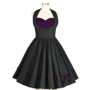 Pin Up Clothing Pocket Shelf Bust Dress